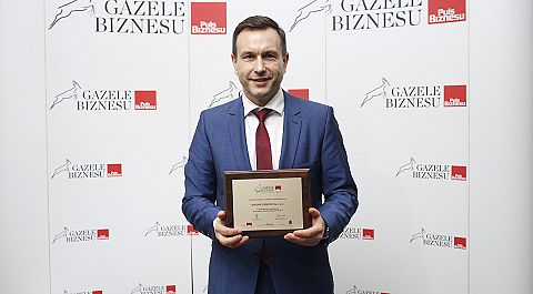 Honourable mention award for Alegre Logistic in the Gazelles of Business Ranking